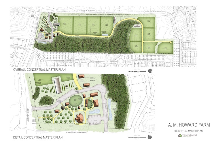 Master plan for AM Howard / Good Hope Farm.